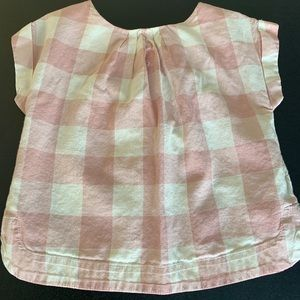 Baby Gap Pink & White Top